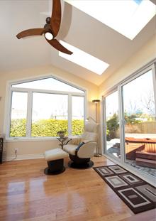 beautiful Sunroom addition
